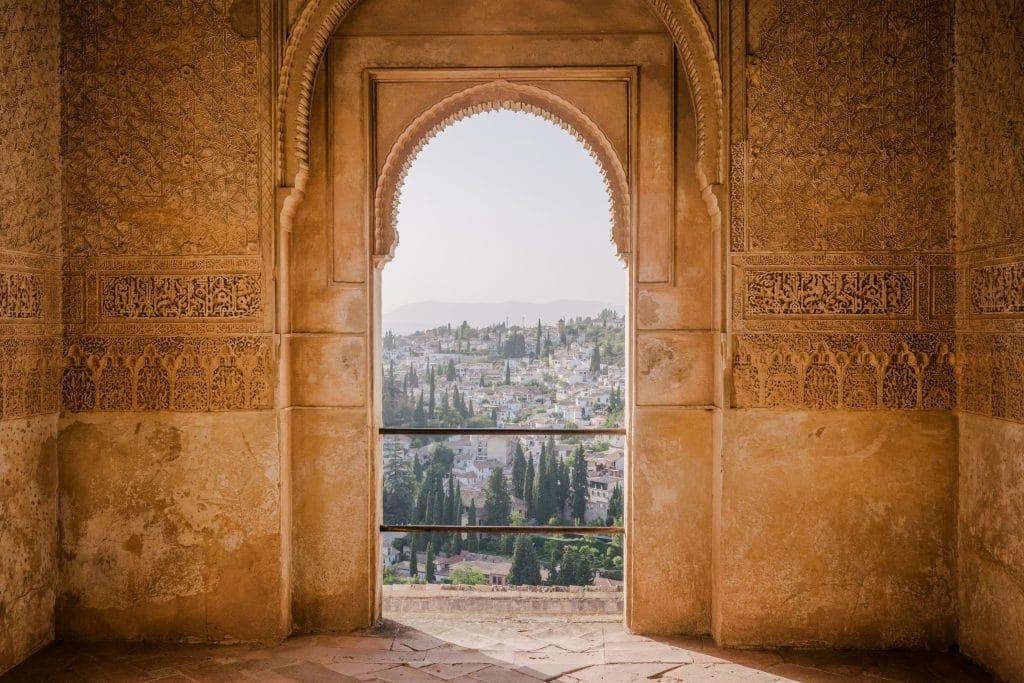 Moorish arch