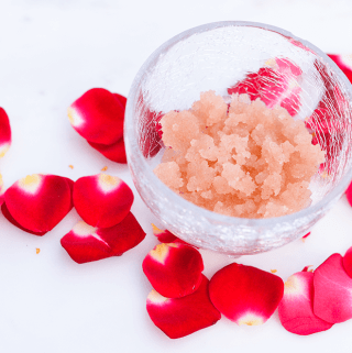 Honey Rose Salt Scrub