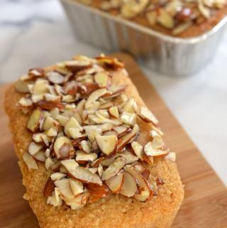 Whole Grain Mini Almond Pound Cakes