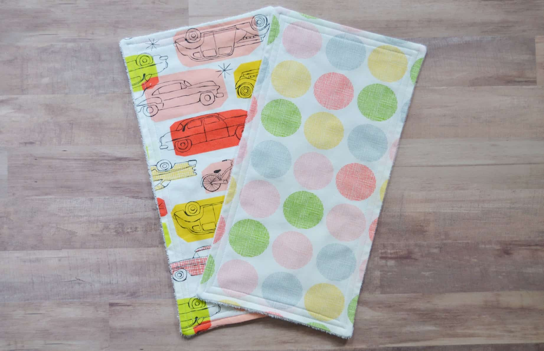 Easiest Baby Burp Cloth - DIY Sewing Tutorial