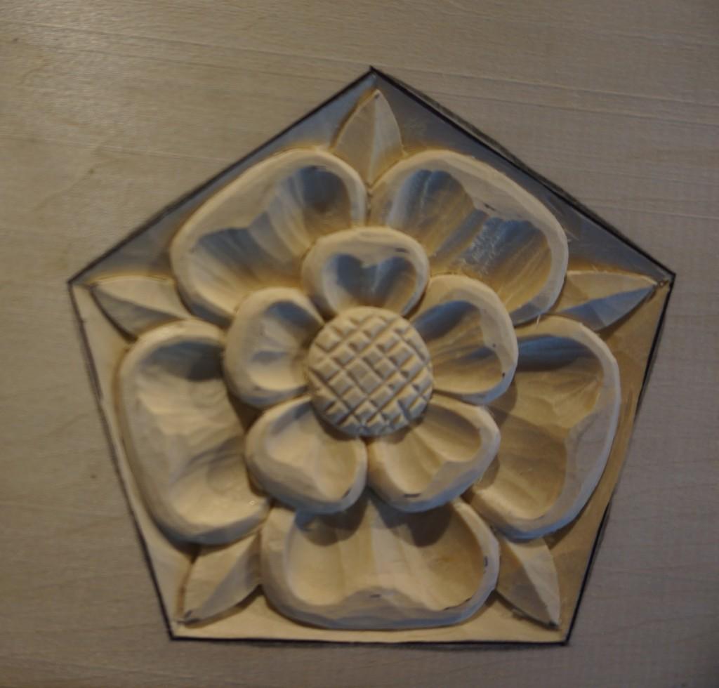 Fleur De Round Mirror Lis