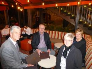 John, George, Mary and Karen at Bottega