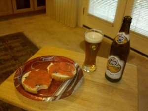 Traditional Christmas breakfast