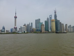 Modern skyline of Shangahi