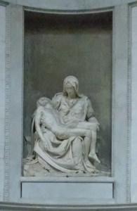 Copy of Michangelo's Pieta in Santo Spirito (original in St.Peter's)