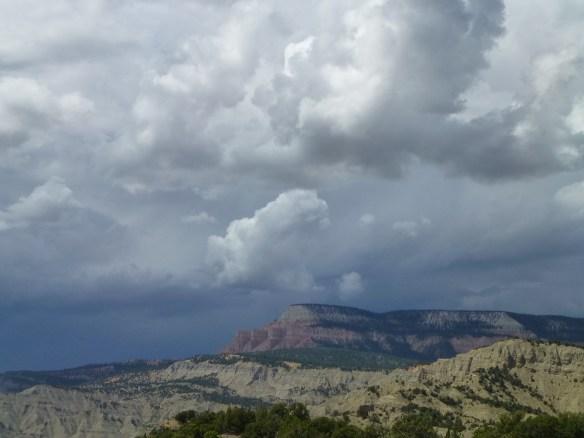 A view looking towards Powells Peak