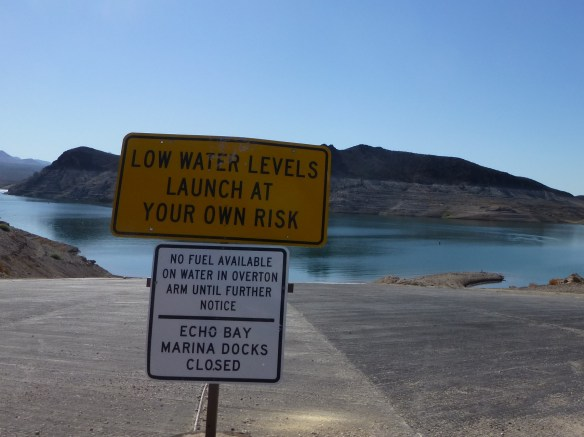 The water in Lake Mead is very low. The drought is impacting water for drinking, agriculture and recreation.
