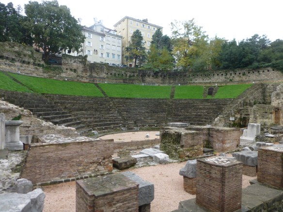 Roman amphitheater in Trieste built at the end of the 1st century A.D.