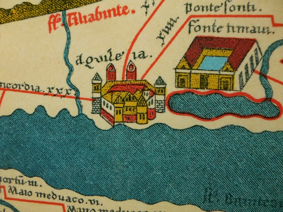 Aquileia on the map