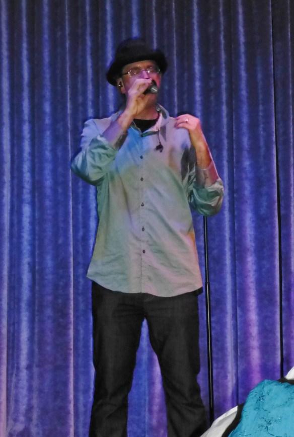 Jon performing his beatbox solo