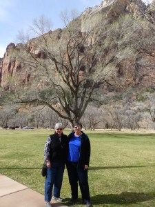 Mary and Phyllis at Zion National Park