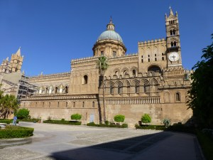 Exterior view of Palermo cathedral