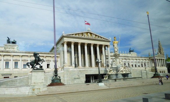 Parliament Building - Greek Revival style built between 1874-1883