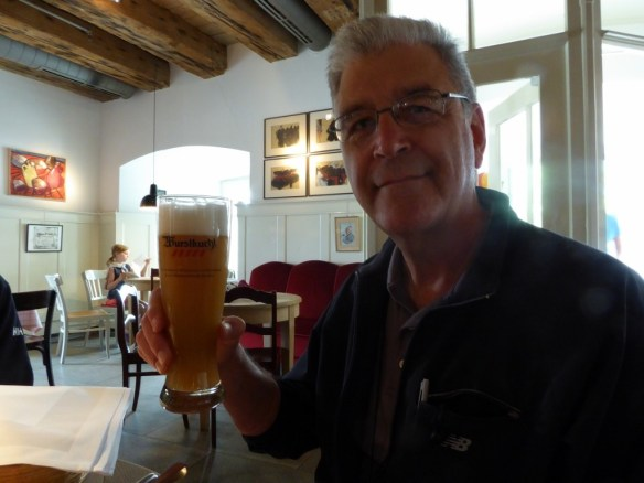 John and his weissbier