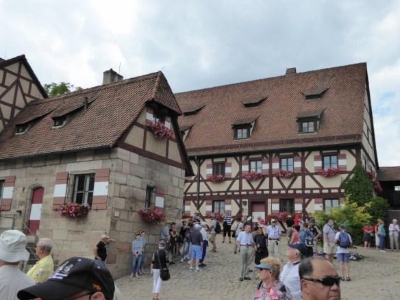 Castle grounds (near restrooms)
