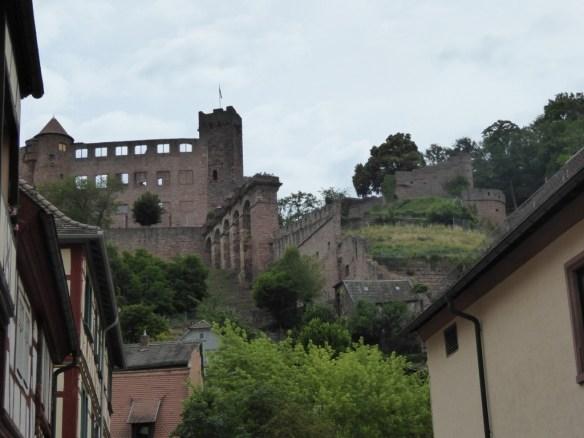 Derelict castle
