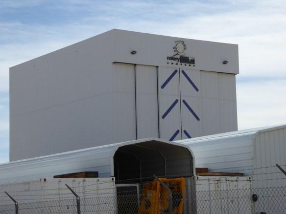 Rotary Rocket Company building