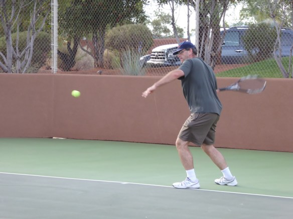 Jonathan uses an extreme Western grip to give his forehand a ton of topspin