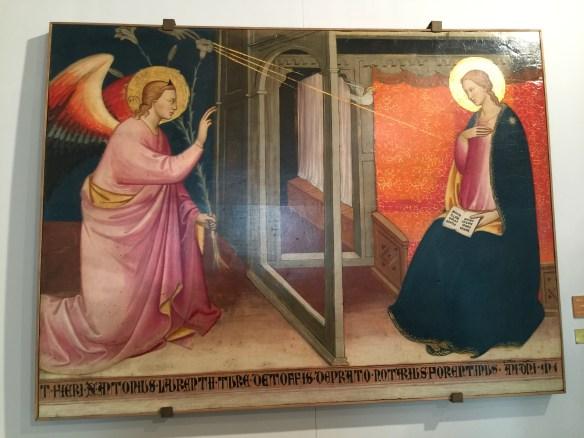 Annunciation - 1320, School of Giotto