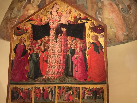 Madonna Misericordia, 1435-1437, Parri di Spinello