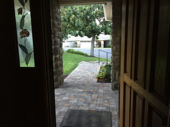 Our new invisible screen door! The breezes are great!