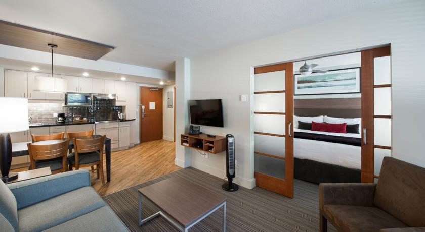 Typical suite at West Coast Suites at UBC
