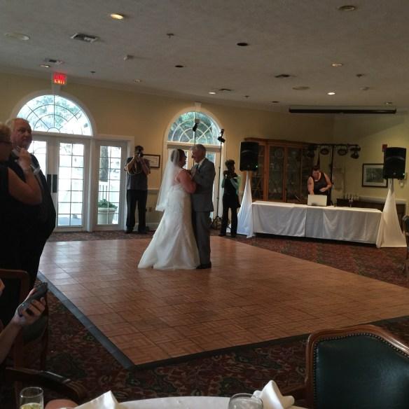 Melissa and Al dance