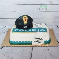 torta polizia