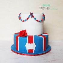 torta tema londra