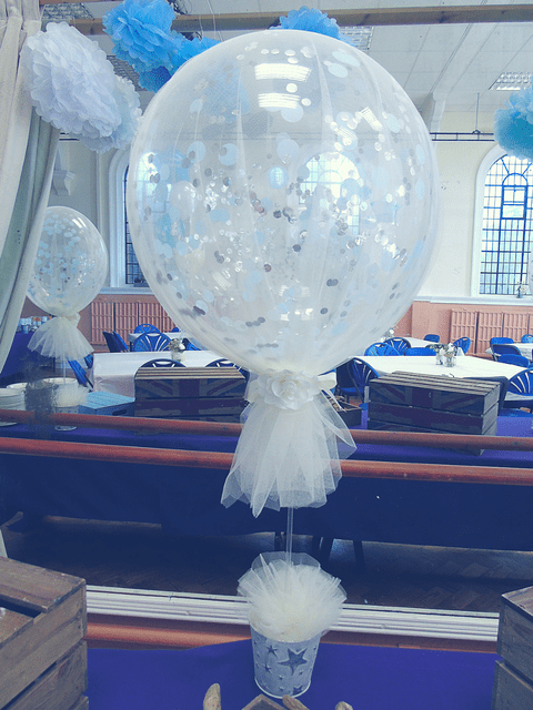 balloon-tree,balloon,confetti,tulle,balloons