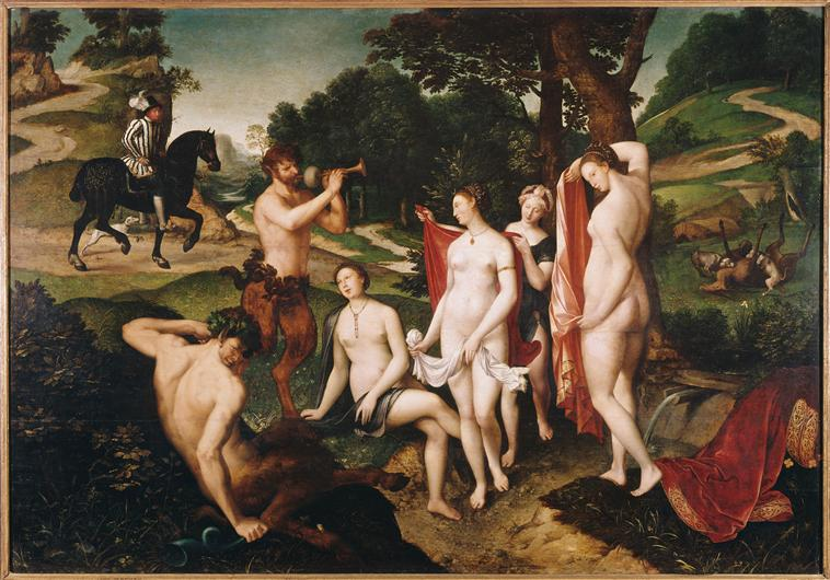 The Bath of Diana - Francois Clouet (Musée de Beaux Arts, Rouen)