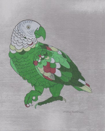 """Parrot // 10"""" x 8"""""""