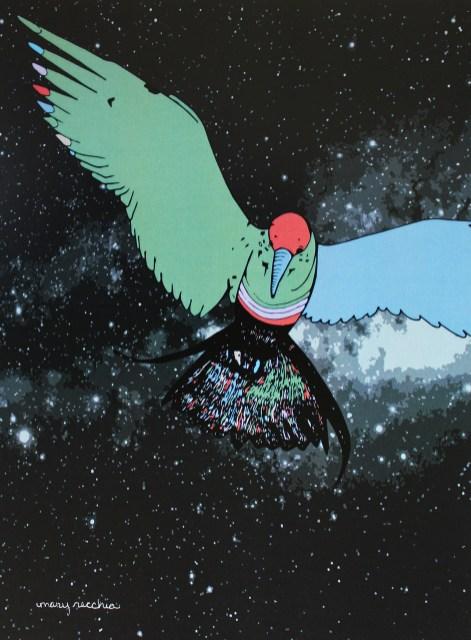 "Spacegull // 10"" x 8"""
