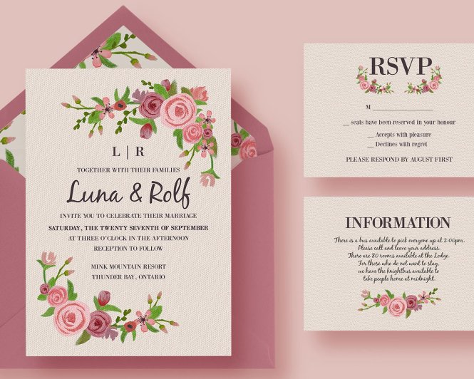 Do You Know How To Create Your Wedding Invitations