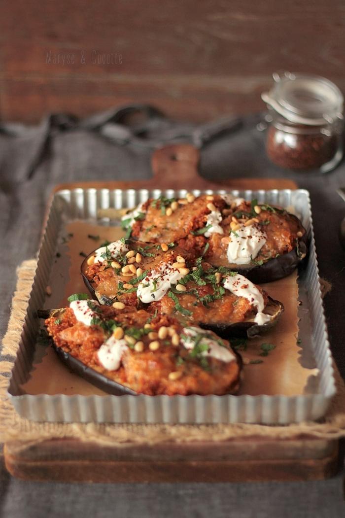 aubergines farcies au quinoa (3)