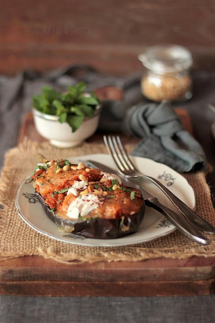 aubergines farcies au quinoa (5)