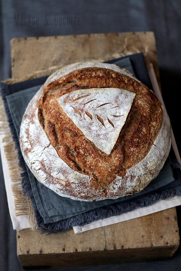 pain au levain et son de blé (3)