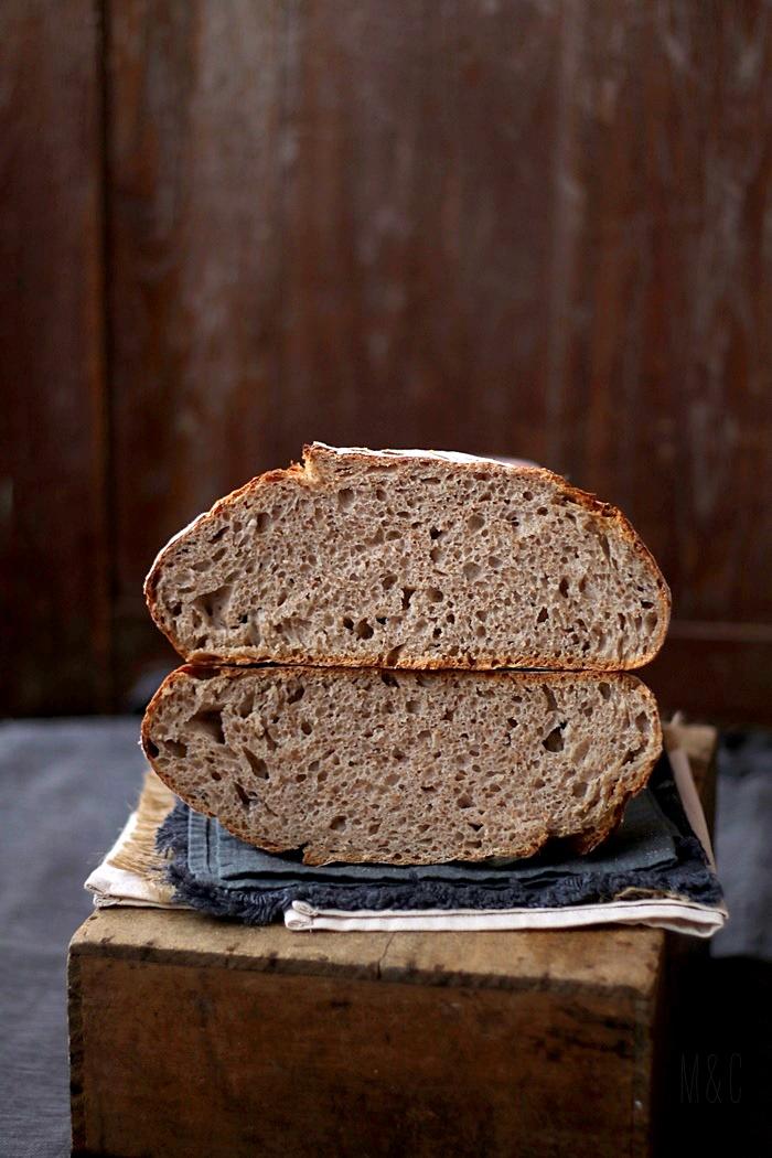 pain au levain et son de blé (8)