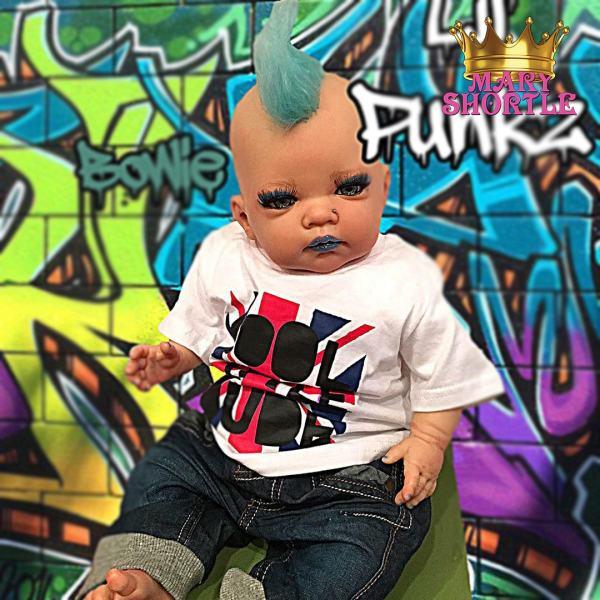 Mary Shortle Bowie Reborn Lil' Punkz