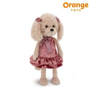 Lucky Dolly Retro Party Lucky Doggy Orange Toys