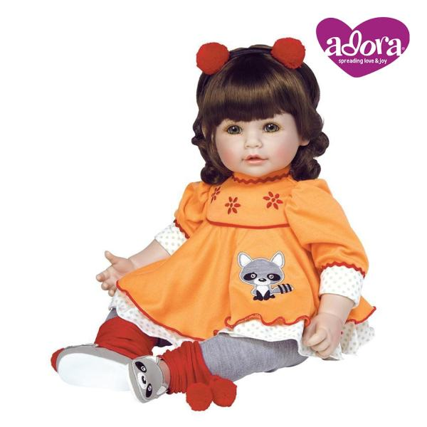 Macaraccoon Adora Play Doll Mary Shortle