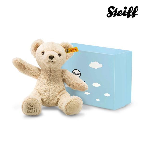 My first Steiff Teddy bear in gift box Beige
