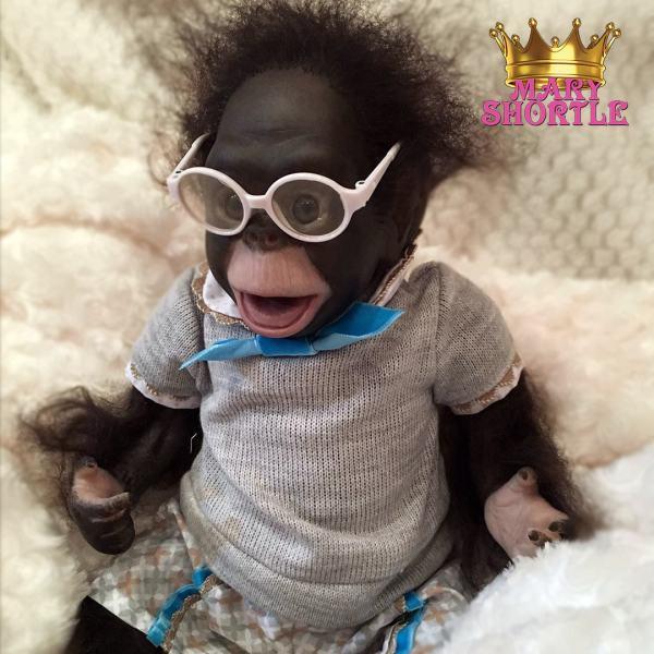 Bubbles Reborn Monkey Mary Shortle