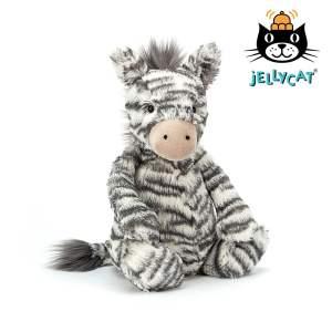 Jellycat Bashful Zebra Mary Shortle