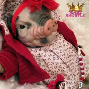 Scarlette Reborn Pig Mary Shortle