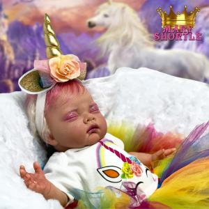 Magenta Unicorn Reborn Mary Shortle