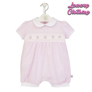 Butterfly Smocked Romper Luxury Clothing Mary Shortle
