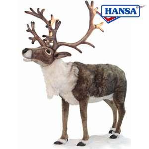 Hansa Singing Reindeer Nordic Lifesize Mary Shortle