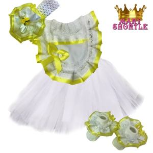 Princess Outfit Yellow Mary Shortle