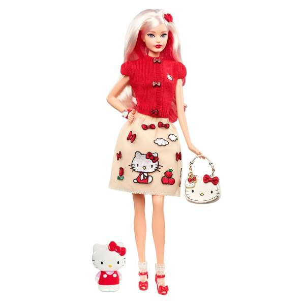 Hello Kitty Barbie Mary Shortle